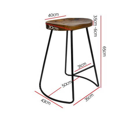 Sensational Tractor Bar Stools 65Cm X 2 Black Bar Stool Collective Gmtry Best Dining Table And Chair Ideas Images Gmtryco