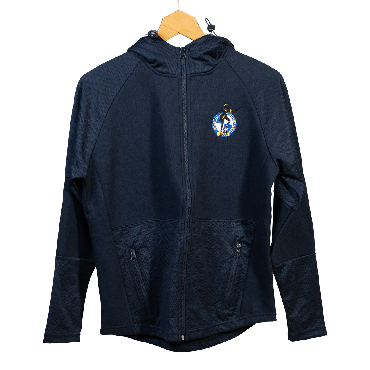 Kids Bristol Rovers Full Zip Hoody