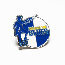 Singing The Blues Badge