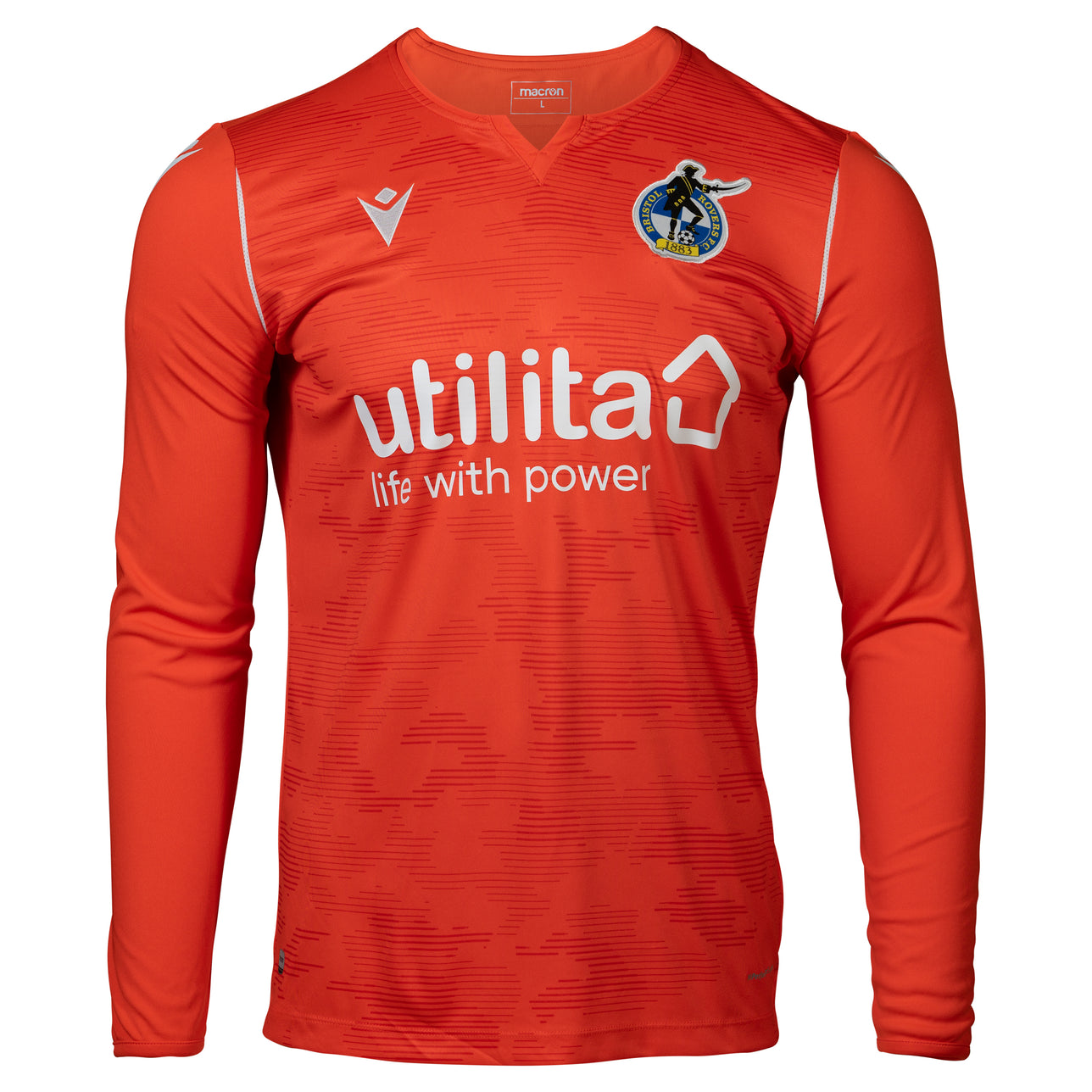 Bristol Rovers Orange Goalkeeper Shirt 2020/21 Junior