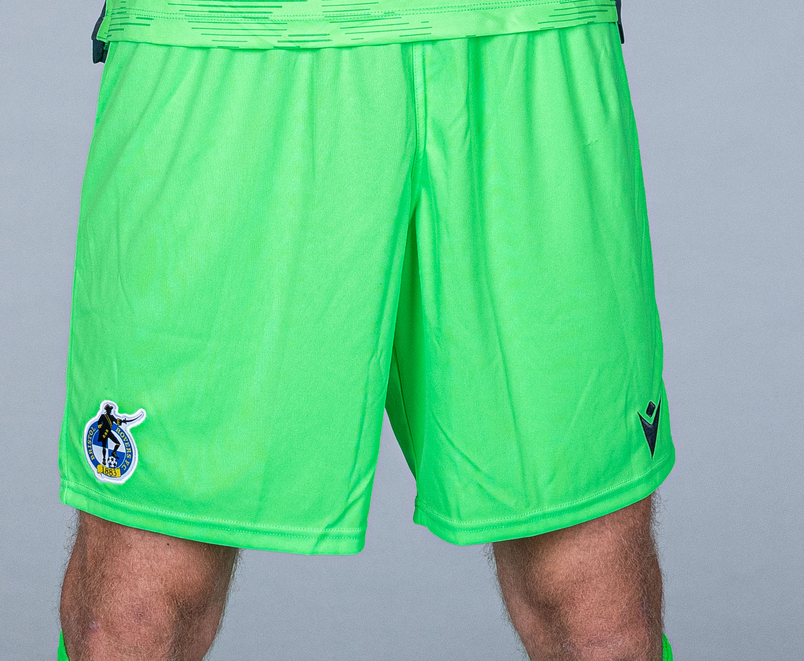 Bristol Rovers Green Goalkeeper Shorts 2020/21 Junior