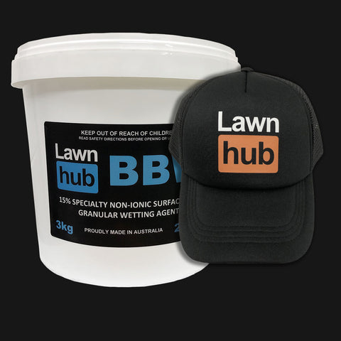 Lawnhub BBW + Lawnhub Hat Pack