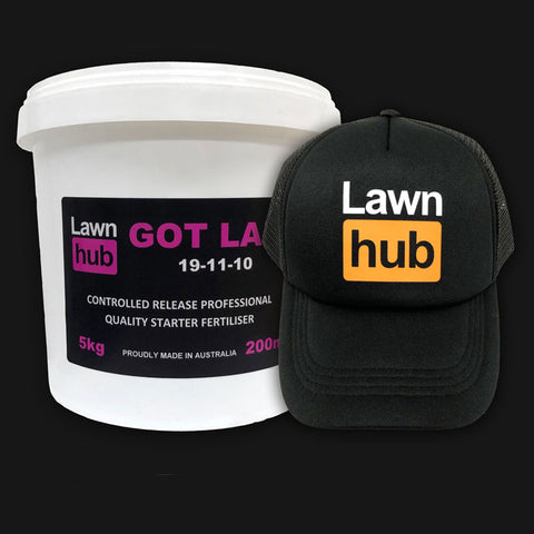 Lawnhub Got Laid + Lawnhub Hat Pack
