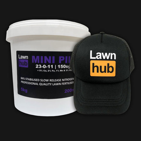 Lawnhub Mini Pill + Lawnhub Hat