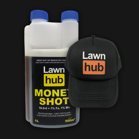 Lawnhub Money Shot + Lawnhub Hat Pack