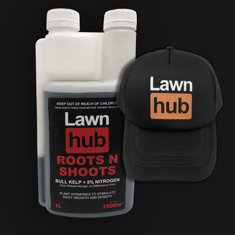 Lawnhub Roots N Shoots + Lawnhub Hat Pack