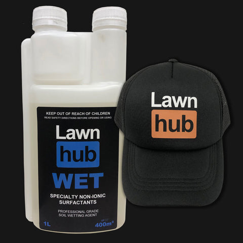 Lawnhub Wet + Lawnhub Hat Pack