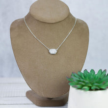 Load image into Gallery viewer, Annabelle Necklace: Silver