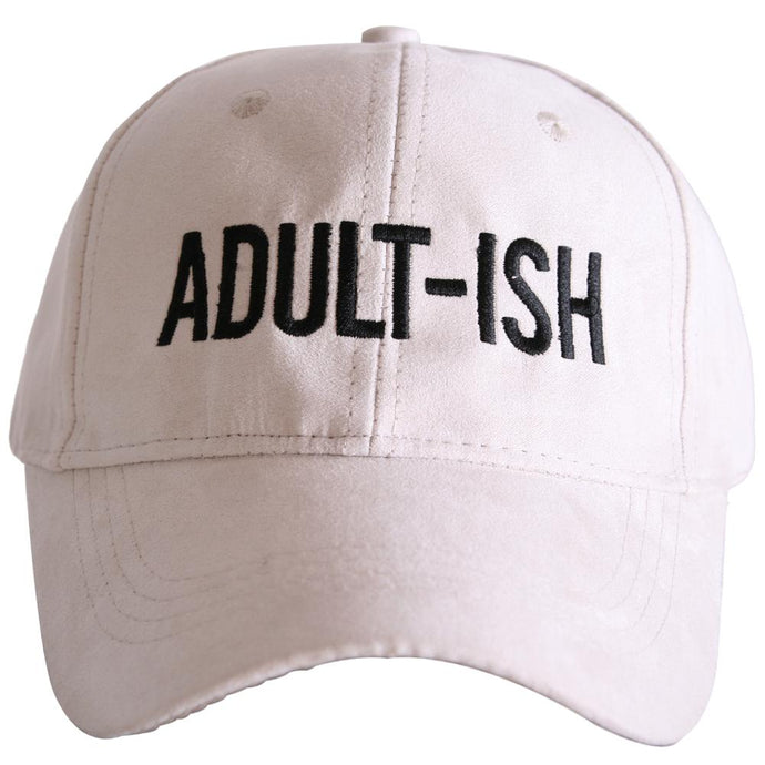 White Adult ISH Hat