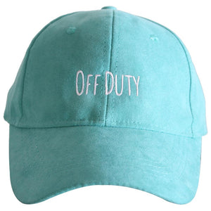 Katydid Off Duty ULTRA SUEDE Baseball Hats
