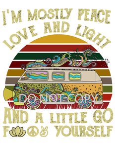 Love and Light Sublimation Print