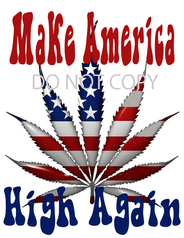 Make America Sublimation Print