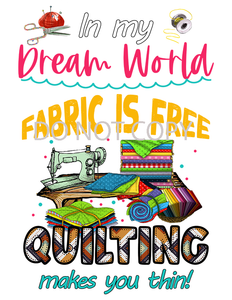Quilting Sublimation Print
