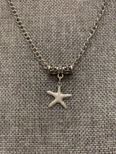 Load image into Gallery viewer, Star Fish Charm Necklace