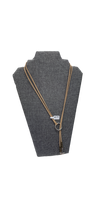 Load image into Gallery viewer, Suede Charm Necklace