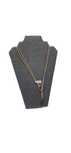 Suede Charm Necklace