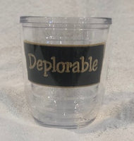 Deplorable 12oz Tumbler