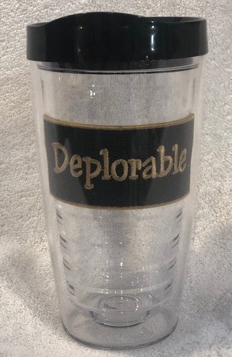 Deplorable 16oz Tumbler