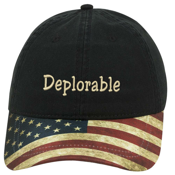 Deplorable Hat - Flag
