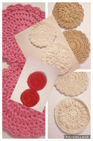Face scrubbies ,Makeup remover pads, face wash cloth,,face care  exfoliating  face pad