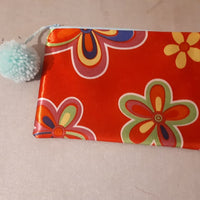 Zip pouch,makeup bag,multipurpose purse,passport wallet