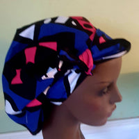 Satin lined bonnet,scrub hat ,sleep hat,outdoor hat