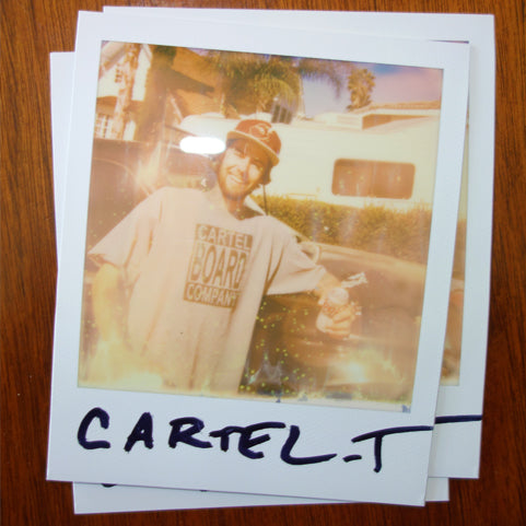CARTEL BOARD COMPANY T-SHIRT