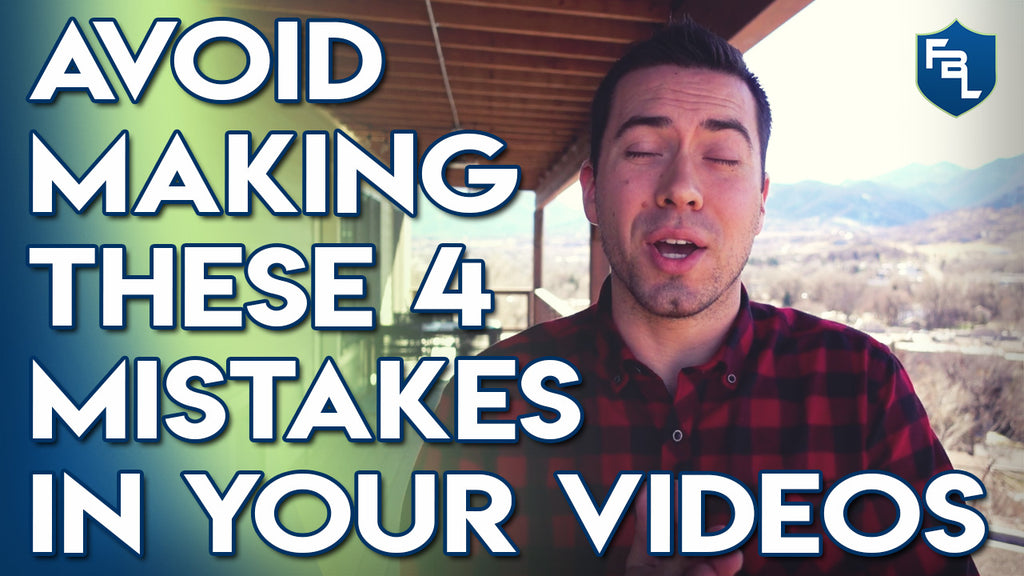 4 Mistakes To Avoid When Making Videos For Your Brand