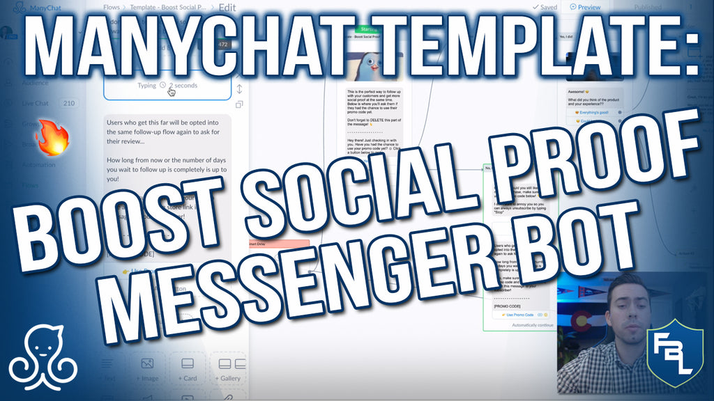 ManyChat Template Tour: Boost Social Proof Messenger Bot