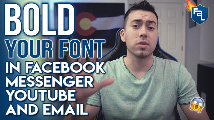 How To Bold And Italicize Your Font In Facebook, Messenger, And Email