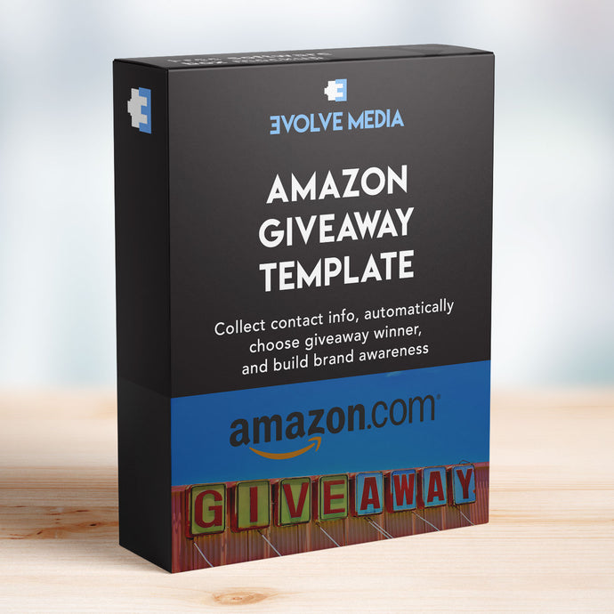 Amazon Giveaway Template