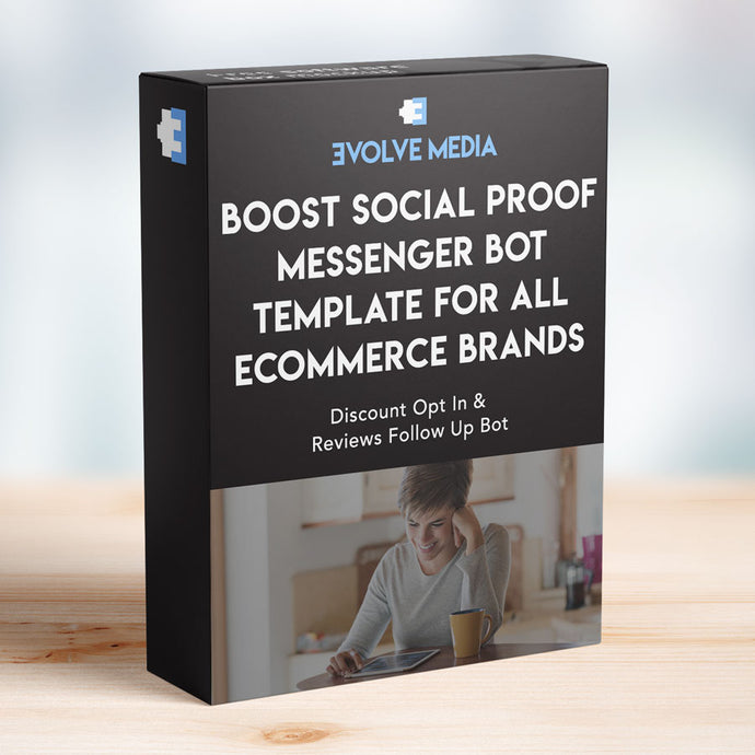 Boost Social Proof Template for All Ecommerce Brands