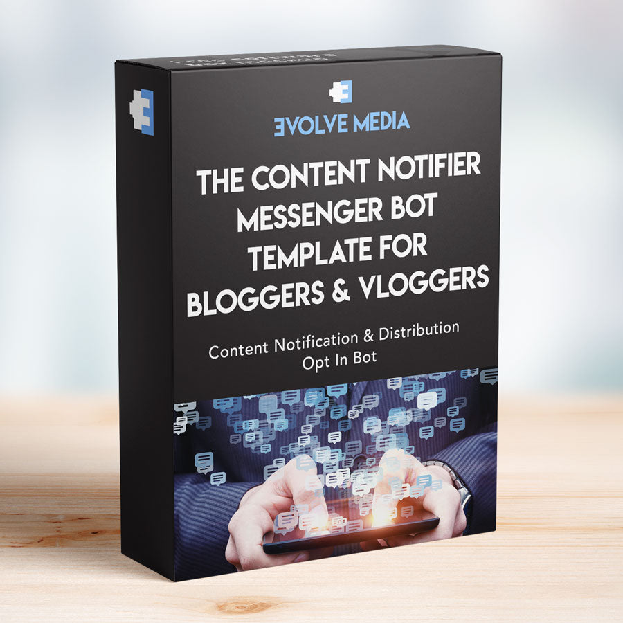 Content Notifier Template for Bloggers & Vloggers