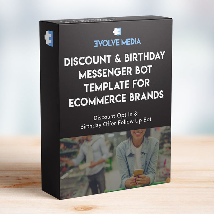 Discount & Birthday Club Template for Ecommerce Brands