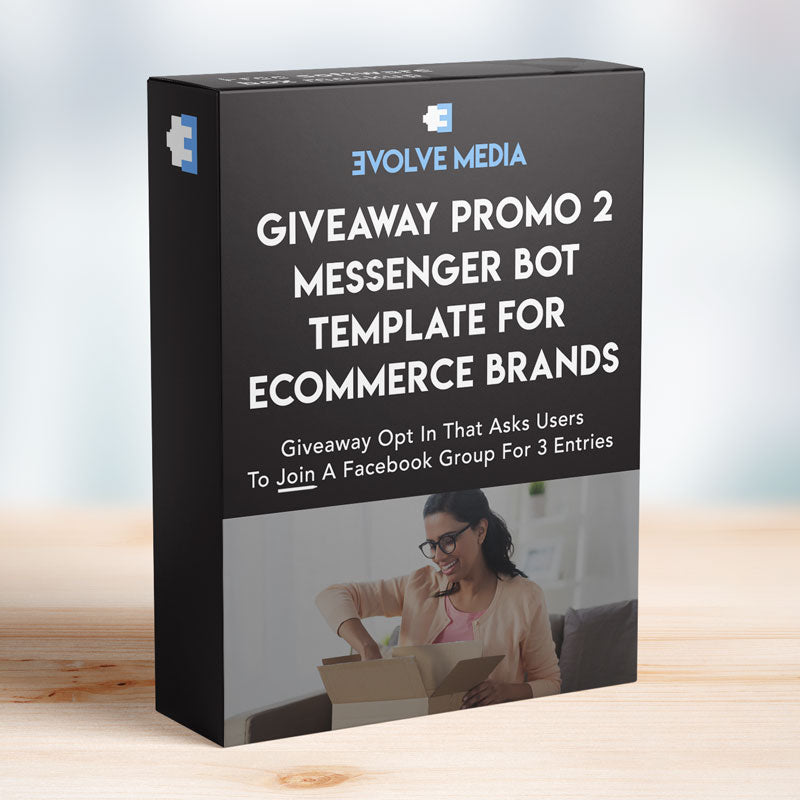 Giveaway Promo 2 for Ecommerce Brands