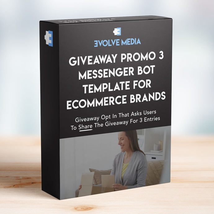 Giveaway Promo 3 for Ecommerce Brands