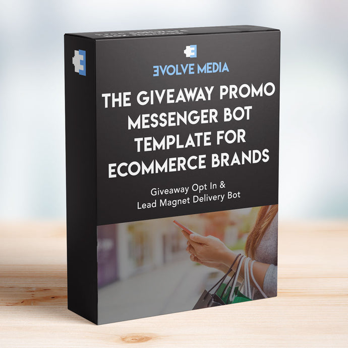 Giveaway Promo Template for Ecommerce Brands