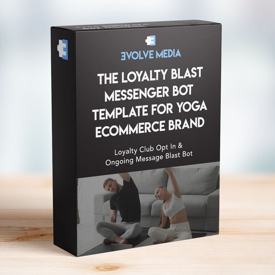 Loyalty Blast Template for Yoga Ecommerce Brand