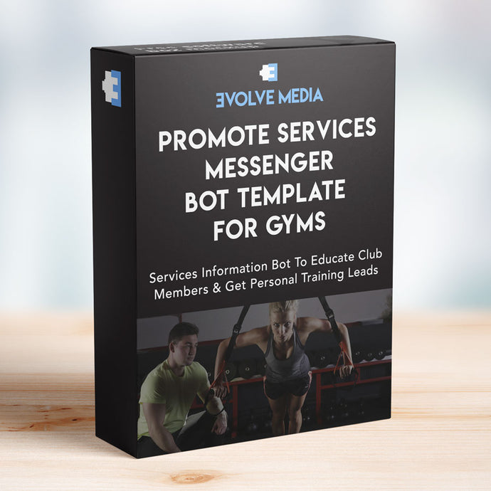 Promote Services Template for Gyms