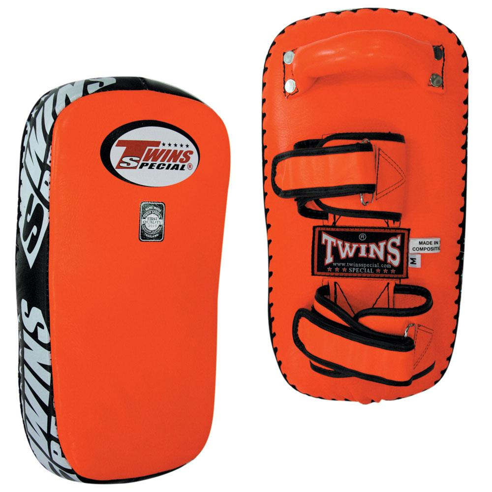 Twins Special Muay Thai Pads w/ Velcro- Orange
