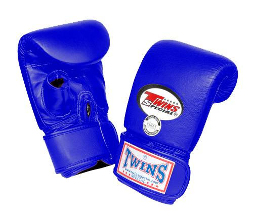 Twins Training Bag Gloves Open Thumb - Blue