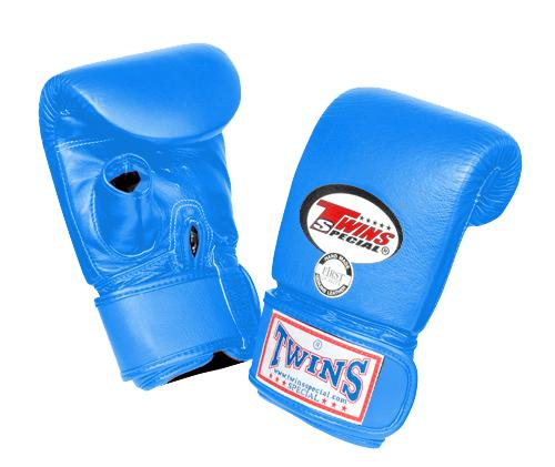 Twins Training Bag Gloves Open Thumb - Light-Blue