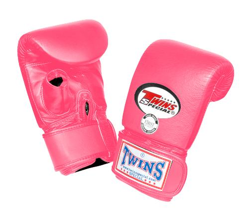 Twins Training Bag Gloves Open Thumb - Pink