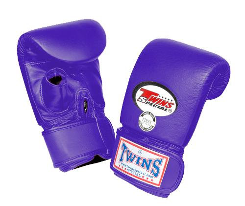Twins Training Bag Gloves Open Thumb - Purple