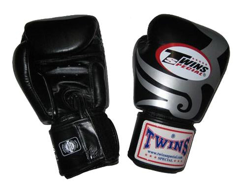 Twins Tribal Boxing Gloves- Premium Leather