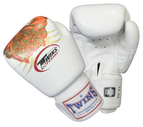 Twins Crouching Tiger Boxing Gloves- Premium Leather
