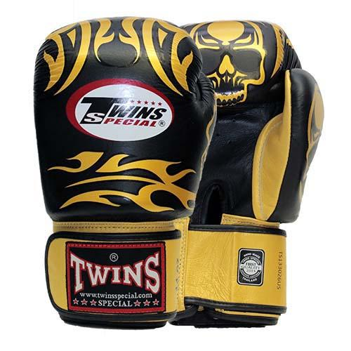 Twins Skulls Boxing Gloves- Premium Leather