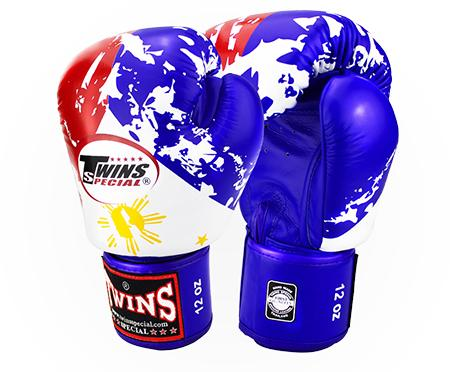 Twins Philippine Flag Boxing Gloves- Premium Leather