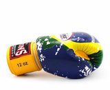 Twins Brazil Signature Boxing Gloves - Velcro Wrist - Image 3