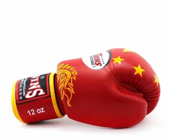 Twins China Signature Boxing Gloves - Velcro Wrist